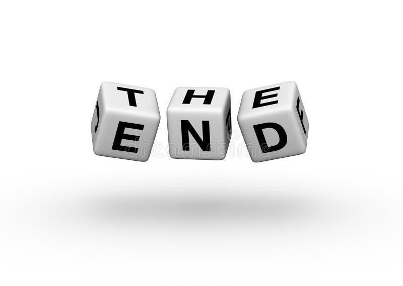 The End. (3d illustration for book or cinema vector illustration