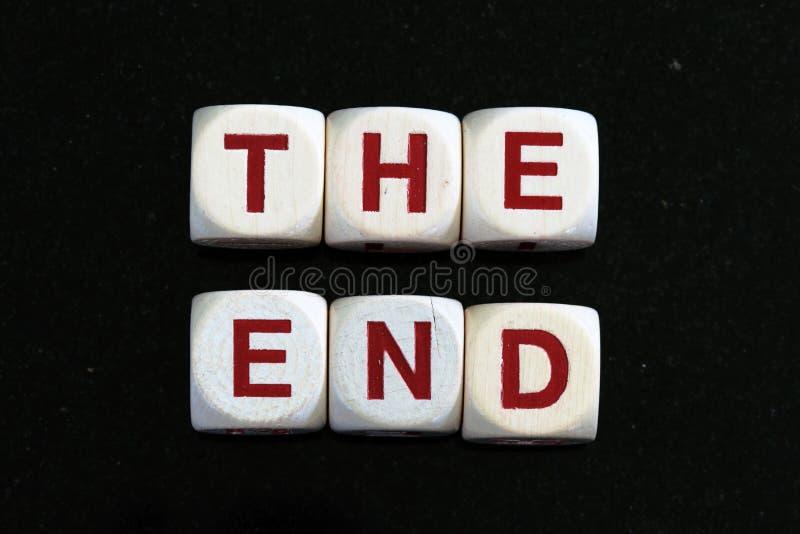 The End Stock Photos