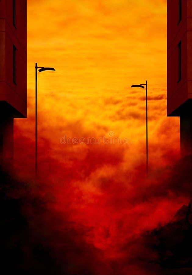 Download The end. stock illustration. Image of life, final, landscape - 7417008