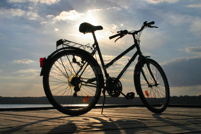 Download End of a bike trip #3 stock image. Image of relax, mountain - 305721