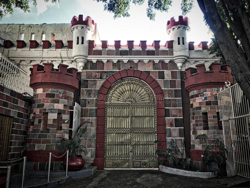 At The End Of A Dark Alley Is A Castle Free Public Domain Cc0 Image