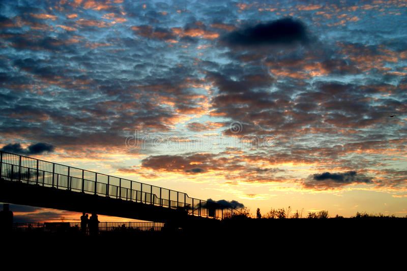 End of Day_2. Afsluitdijk, Breezanddijk, Netherlands, new links between people and the landscape stock images