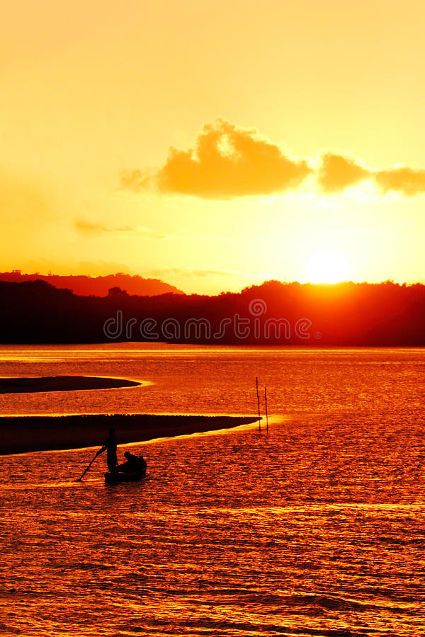 Download End Of The Day In Bahia - Brazil. Royalty Free Stock Photos - Image: 23343878