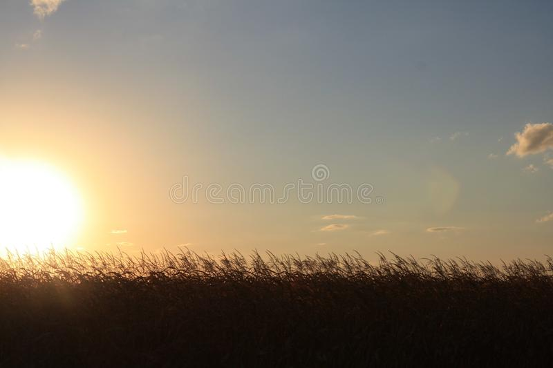 end of the day royalty free stock photos