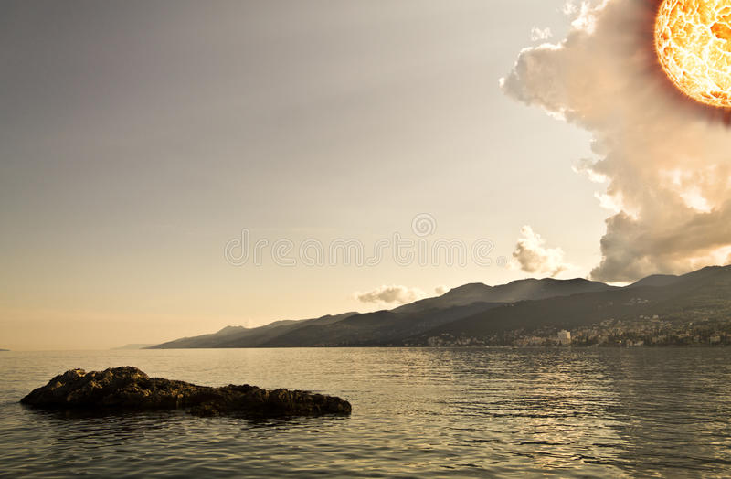 end of days royalty free stock image