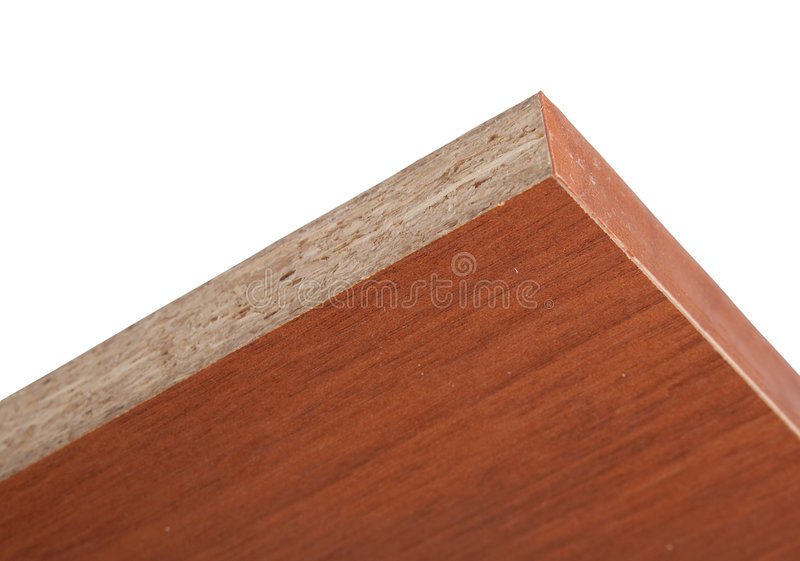 Download End Face Laminated Plate Of The Pressed Wood Crumb Stock Photo - Image: 5058822