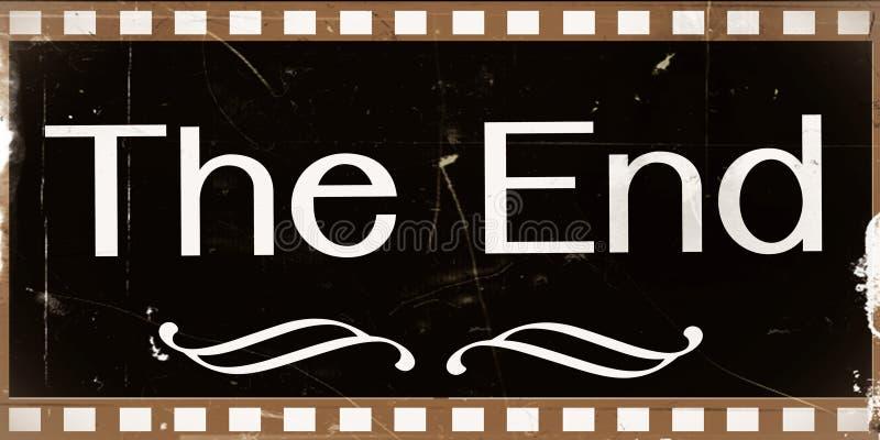 Download The end Movie stock illustration. Illustration of cinema - 29888371