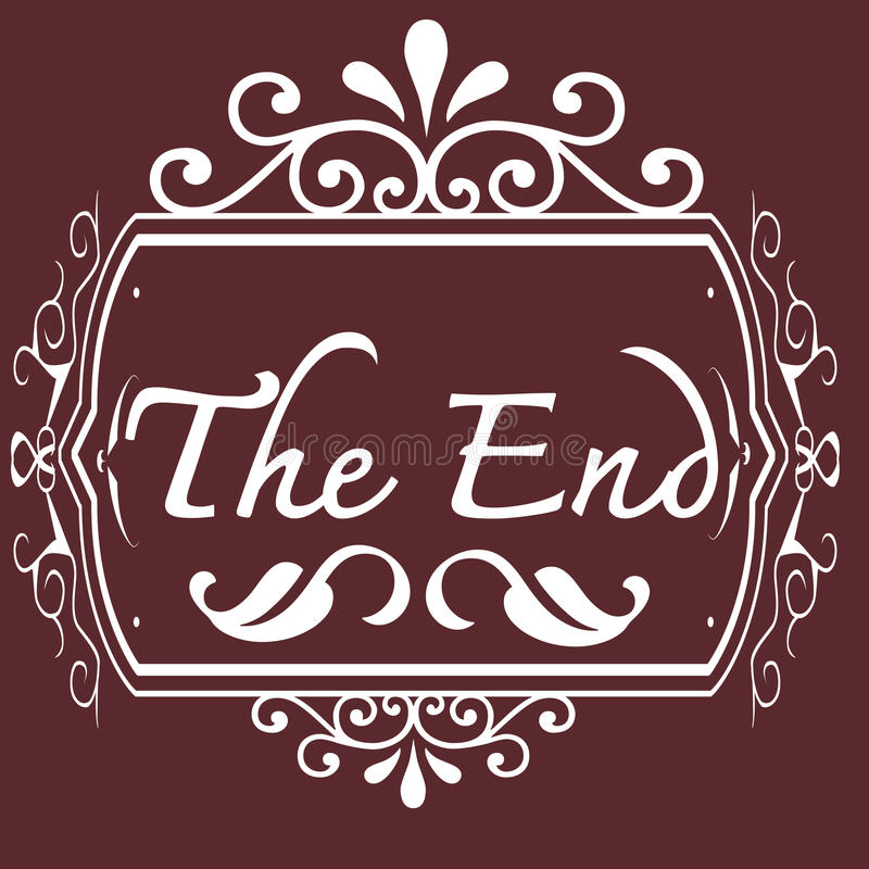 Download The end Movie stock illustration. Illustration of movie - 29888444