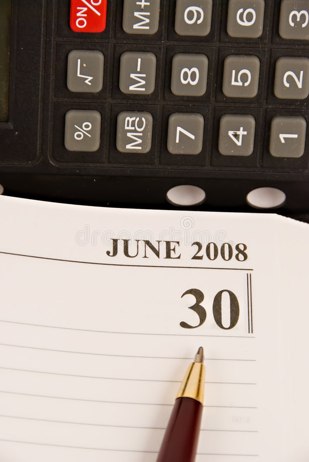 Free End Of Financial Year 2008 Stock Photos - 4340483