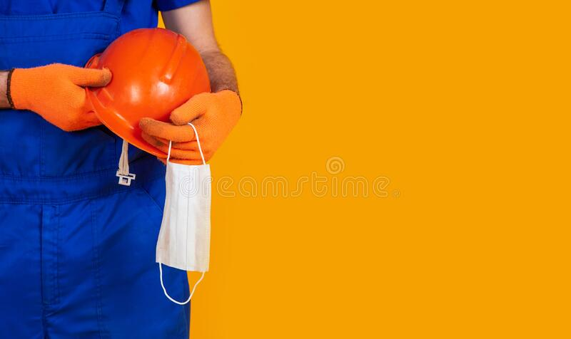 End of production due to an outbreak of coronavirus COVID-19. The concept of the economic crisis, unemployment and production. Coronavirus, pandemic, health royalty free stock photos