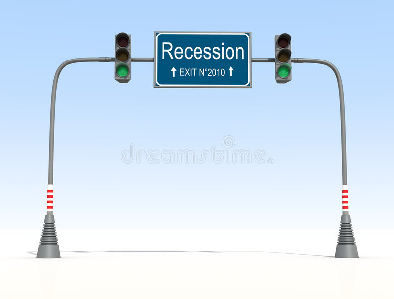 Download End of recession stock illustration. Image of success - 8033632
