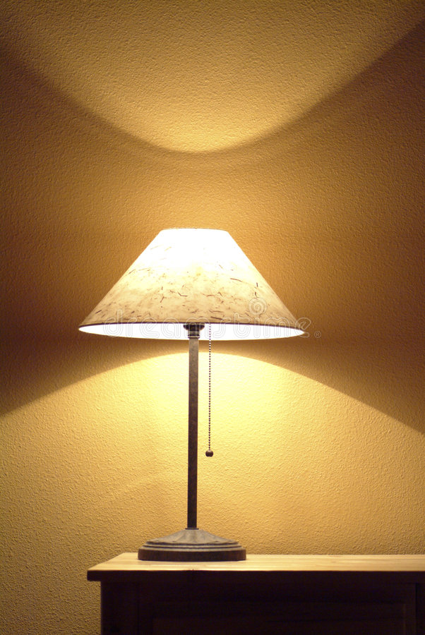 End Table Lamp Royalty Free Stock Photos