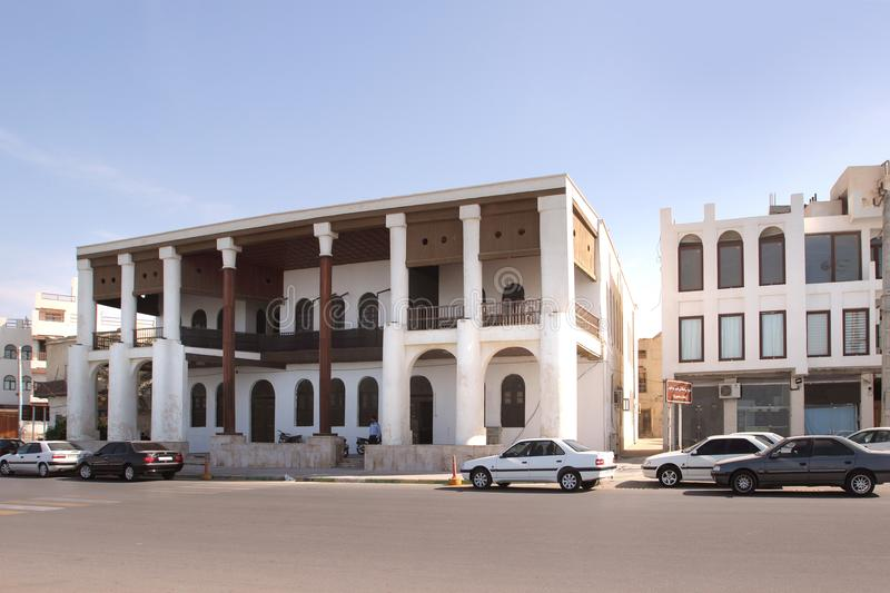 The English Colonial Architecture On The Khalij e Fars Street In
