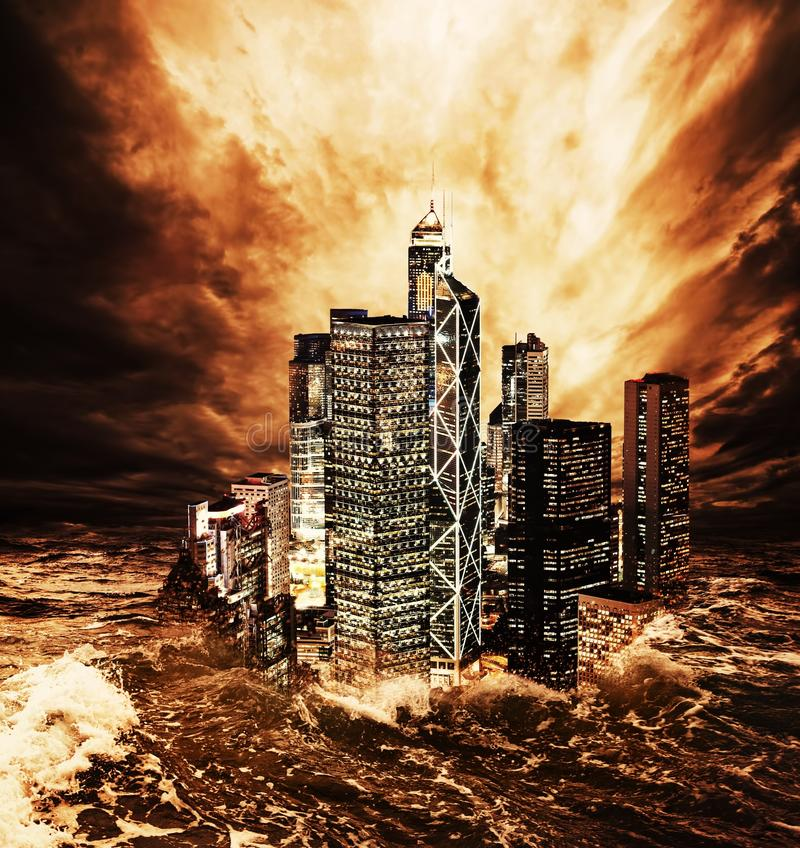 The end of the world. royalty free stock photos