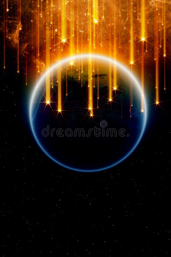 End of world vector illustration