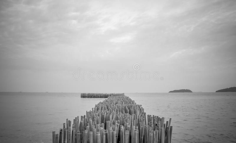 End of world. This southest point of Phuket, Thailand royalty free stock photo