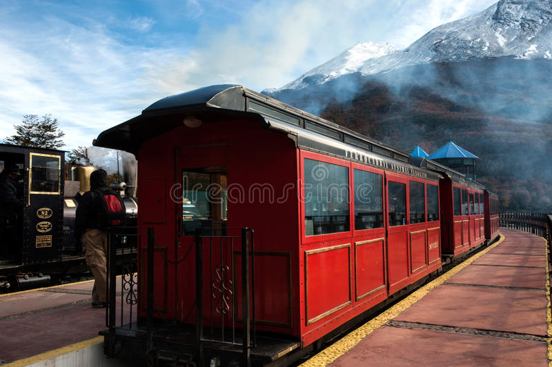Download End Of World Train, Tierra Del Fuego, Argentina Editorial Stock Photo - Image: 32190603