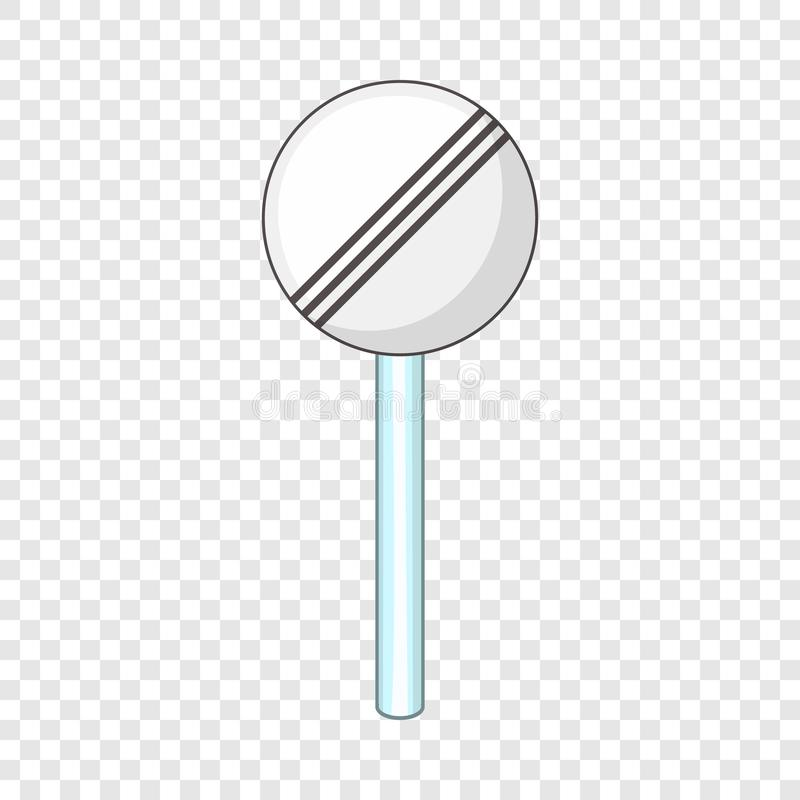 End zone of all restrictions icon, cartoon style. The end zone of all restrictions icon. Cartoon illustration of the end zone of all restrictions vector icon for vector illustration