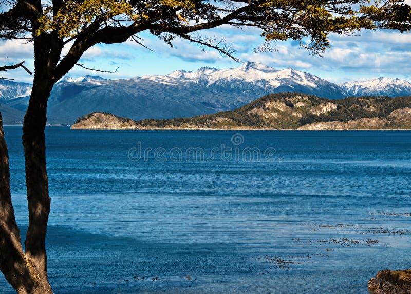 Ende der Welt, Tierra del Fuego stockfoto