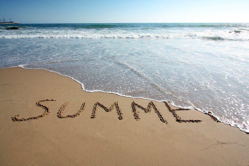 Ende des Sommers lizenzfreies stockbild