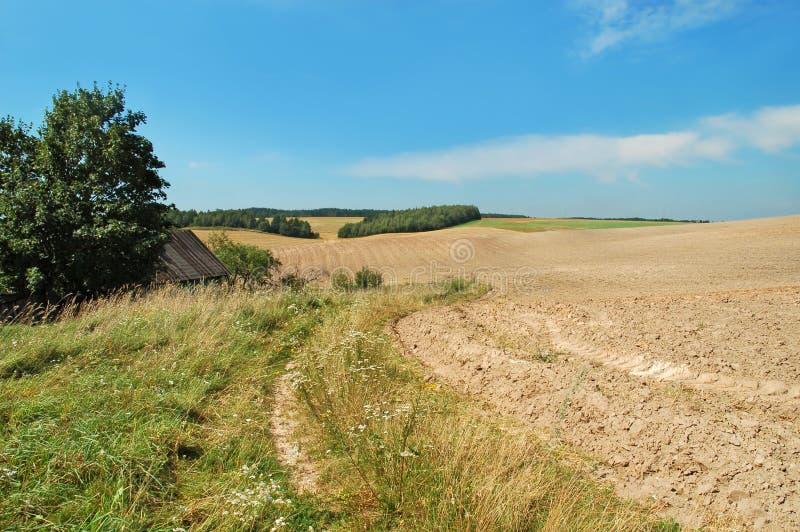 Ende des Sommers landwirtschaftlich lizenzfreie stockfotos