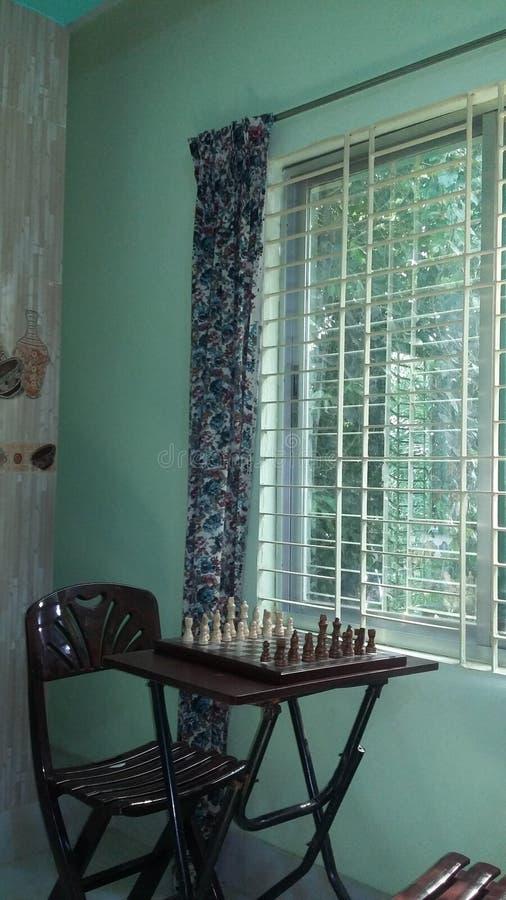 Ende des Spielcheckgehilfen, einfarbiges Schwarzweiss mit Höhepunkt stockfotografie