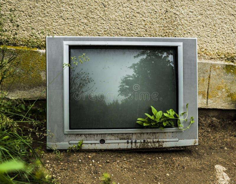 Ende von Fernsehen stockfotografie