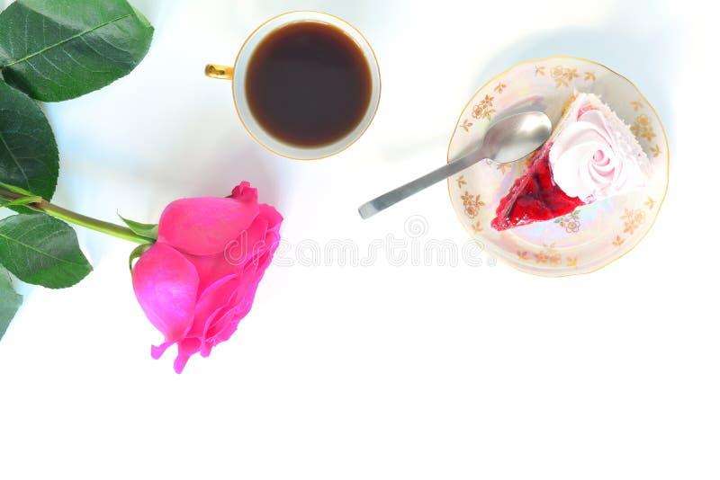 Endecha del plano de la fiesta del té imagen de archivo libre de regalías