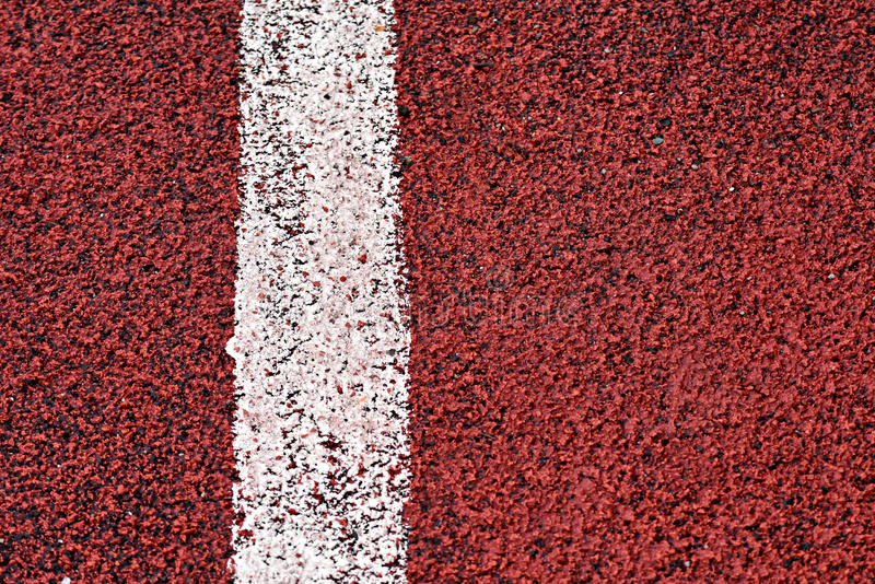 Endecha plana de la raza de los deportes fotografía de archivo