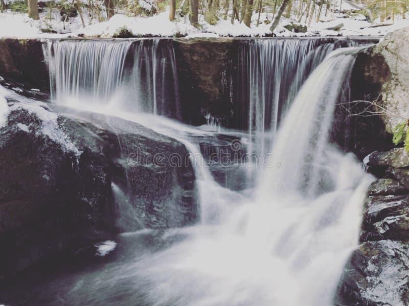 Enders delstatsparkvattenfall arkivfoto