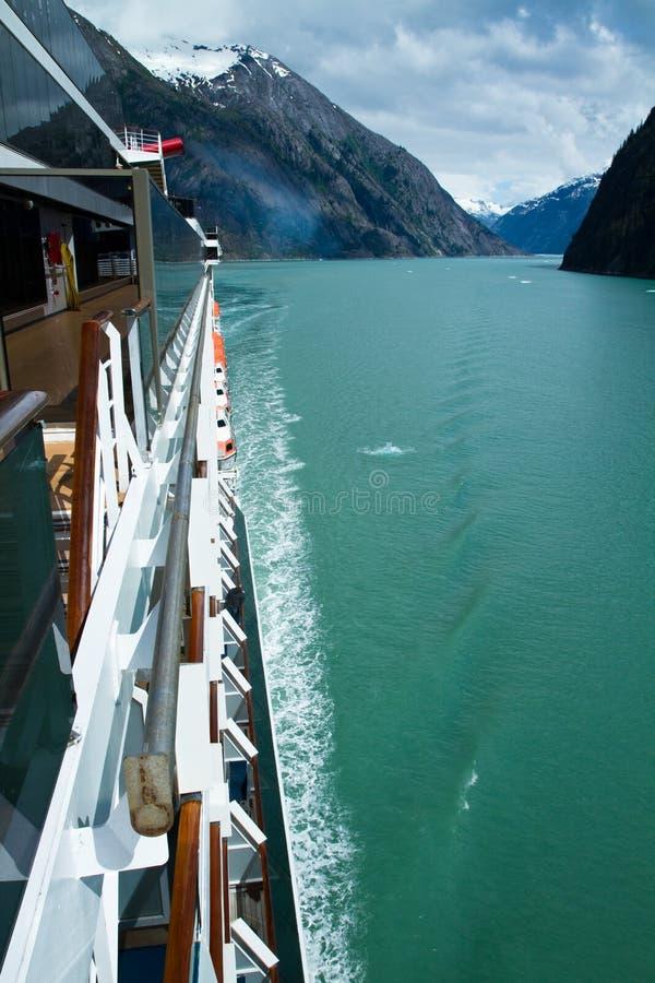 Endicott de cruzamento Fijord imagens de stock