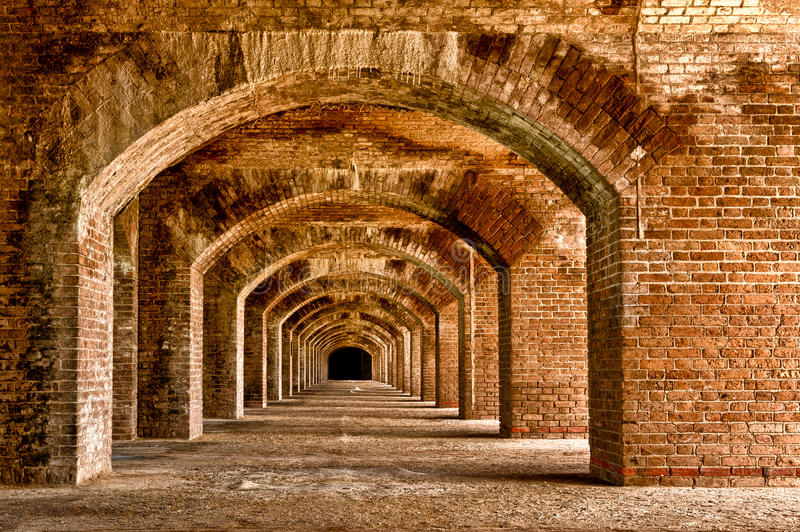 Download Endless arches stock photo. Image of horizontal, tortugas - 23157528