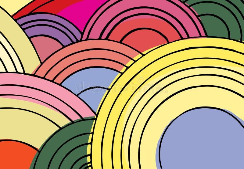 Endless Circles I Royalty Free Stock Image