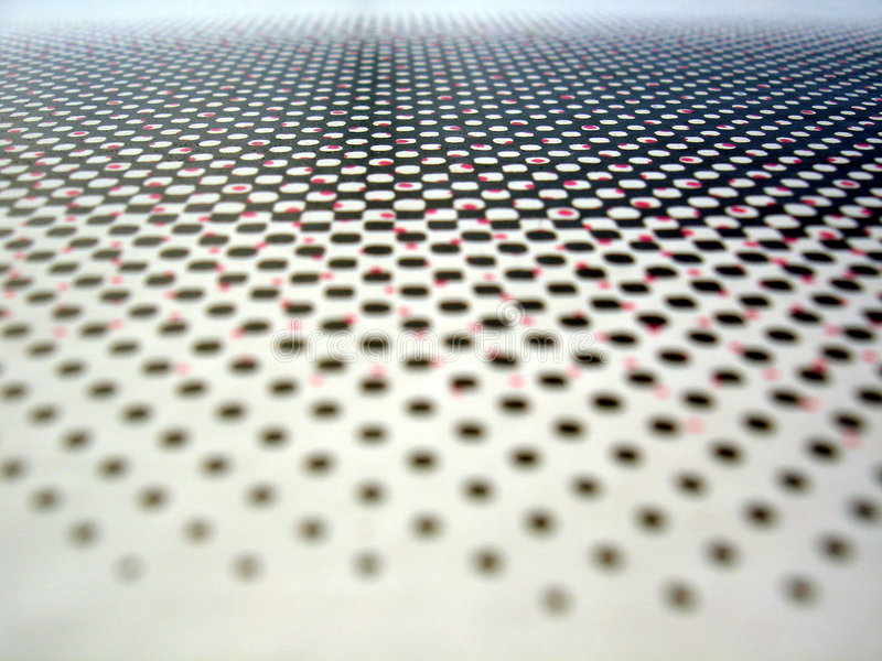 Endless dots stock photography