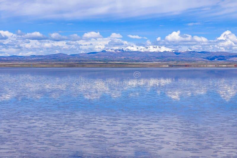 Endless Landscapes Mirror Of Sky In Salar De Uyuni Stock