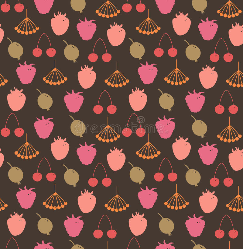 Endless Natural Pattern Stock Image