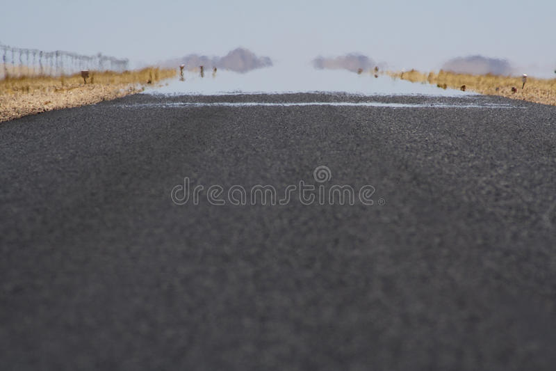 Endless Road Royalty Free Stock Photos