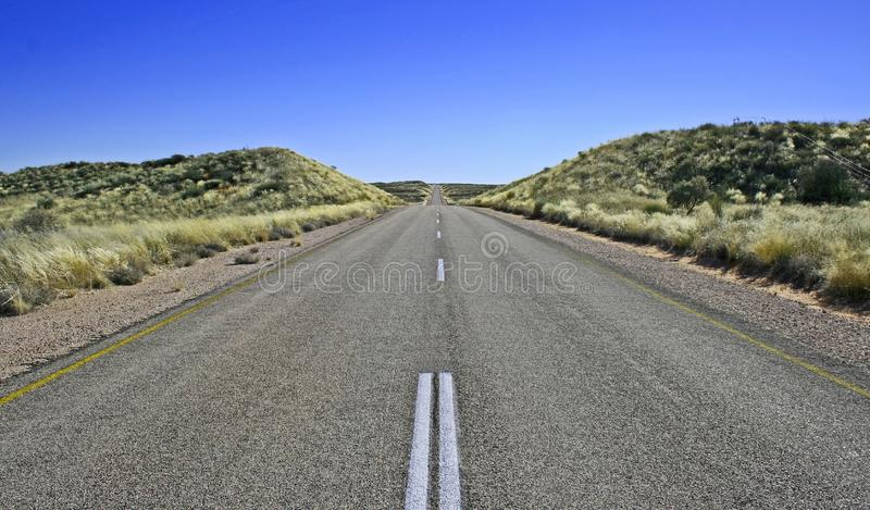 Endless road stock photos