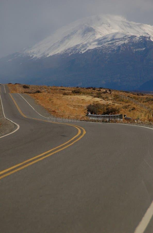 Download Endless road in Patagonia stock image. Image of calafate - 2319747
