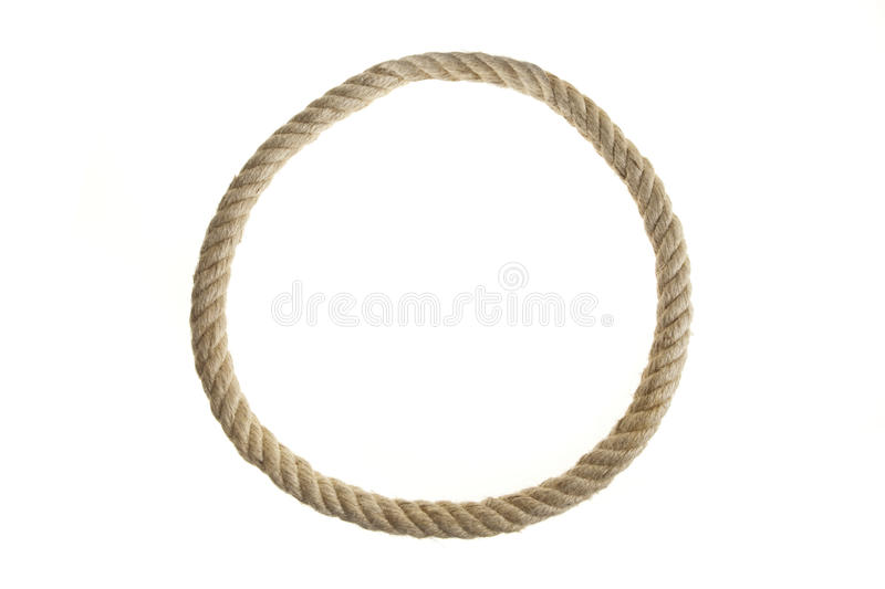 Endless Rope Loop stock photography