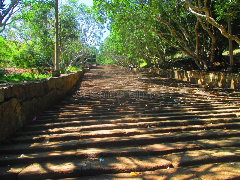 Endless steps stock photo