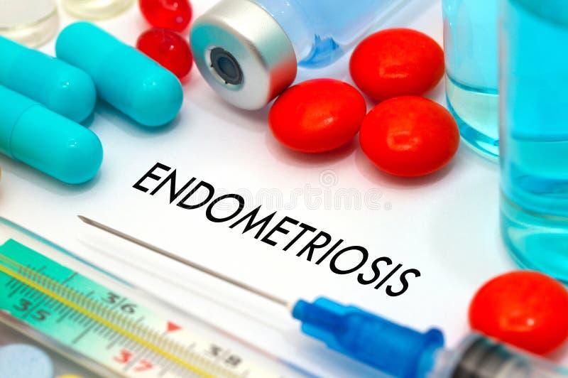 Endometriosis royaltyfri fotografi