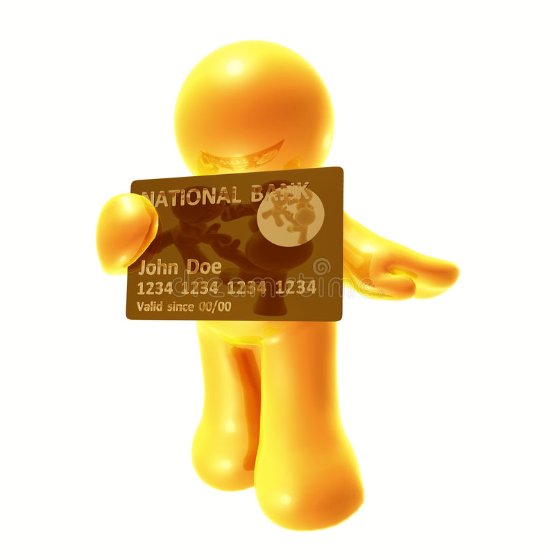 Download Endorsing  Credit Card Stock Images - Image: 8349694