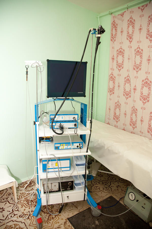 Endoscopy Room Design: Endoscopy Exam In Clinic Stock Photo. Image Of Patient