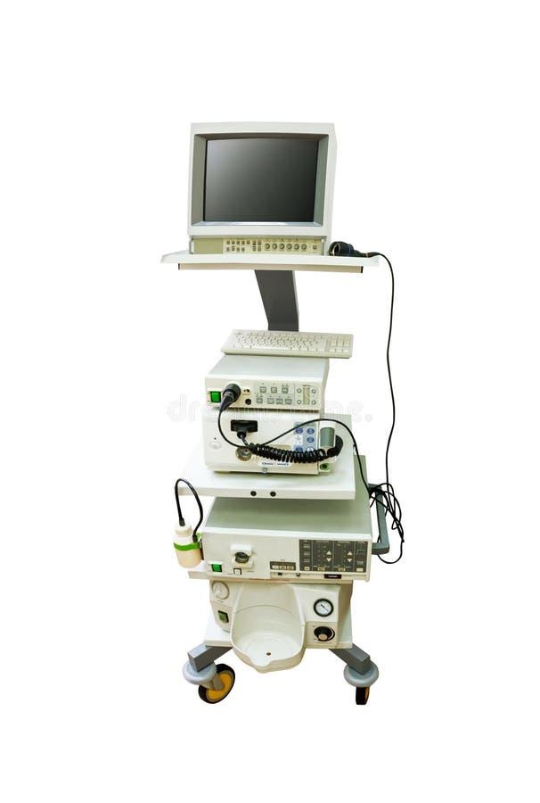 Endoscopy Cleaning Room: Endoscope Equipment Stock Photo. Image Of Equipment