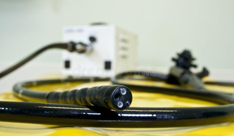 Endoscopio flessibile fotografia stock libera da diritti