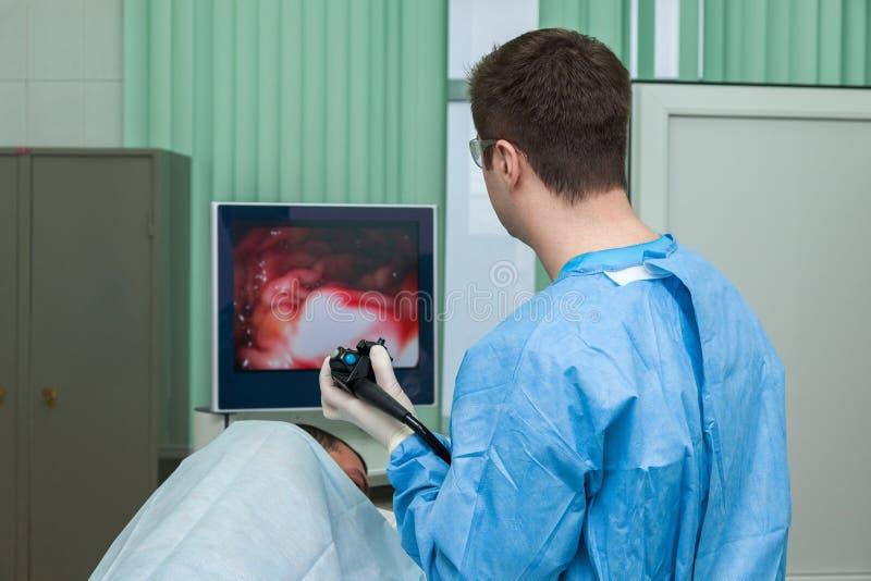 Endoskopu egzamin obrazy royalty free