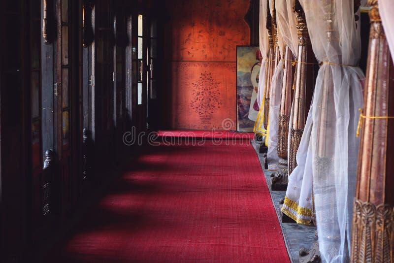 Endroit caché de palais indien photos stock