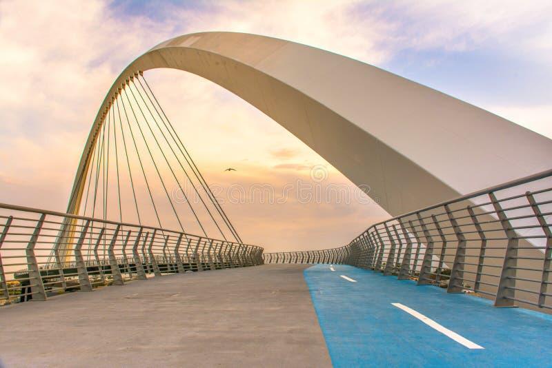 Endroit de Dubaï de pont de tolérance à visiter à Dubaï photos stock