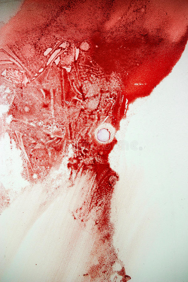 Endroit de sang image libre de droits